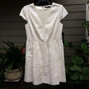 Graduation Dress - Kensie Birch Paisley Illusion